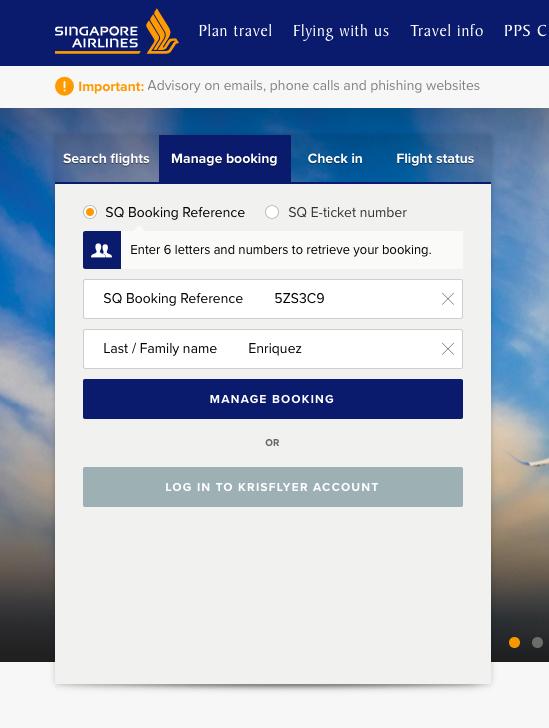 get flight itinerary visa