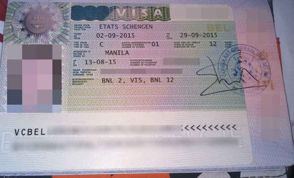 Belgium Visa Application Form Belgium Emby on