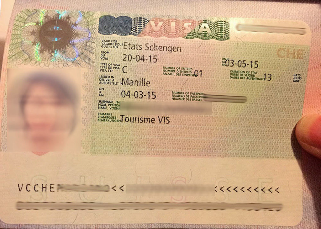 Switzerland And You Need To Apply For A Schengen Visa Please See The Complete List Below For The Application Requirements